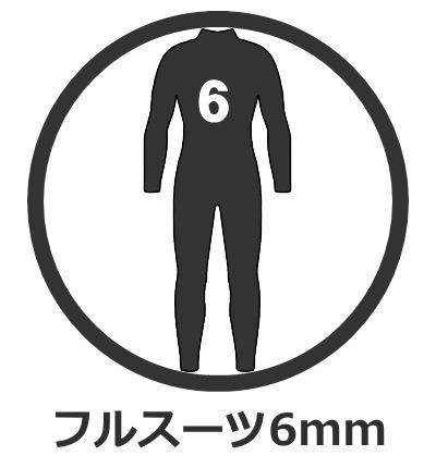 フルスーツ 6mm